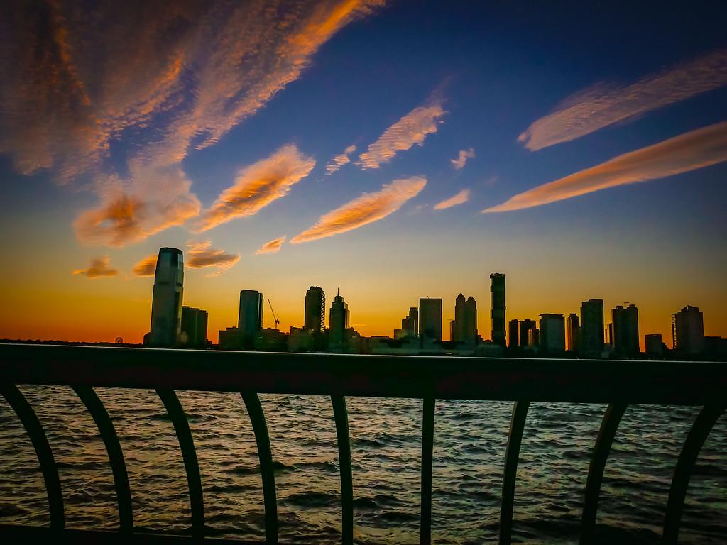 Sundown at Battery Park