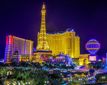"""Paris Las Vegas Nights,"" Paris Hotel, Las Vegas, Nevada"