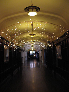 Lights in the Peacock Hall