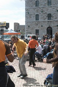 Salsa dancers, Distillery Jazz Festival 2005
