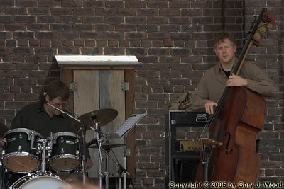 Ted Warren and Mike Downes, Distillery Jazz Festival 2005