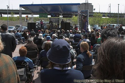southbound2 on stage, Distillery Jazz Festival 2005