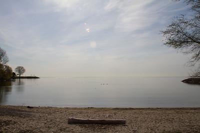 Lake Ontario from Col Sam Smith Park