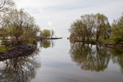 Etobicoke Creek at Lake Ontario