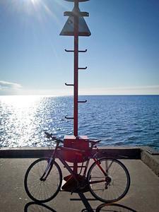 My Bicycle at Port Credit Marina