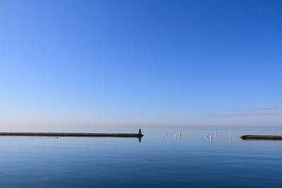 Lake Ontario Near Ontario Place