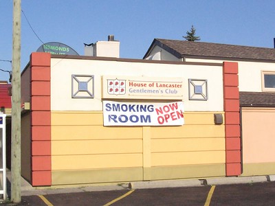 Smoking Room Now Open