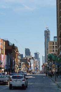Yonge Street from Bloor Street