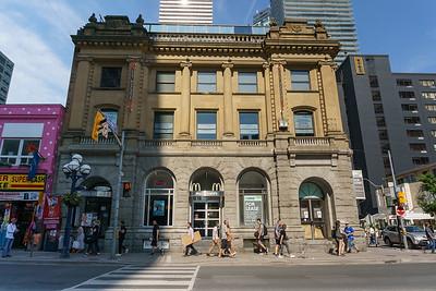 Yonge Street and Charles Street