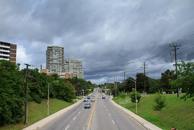 Islington Avenue Looking North From Cordova