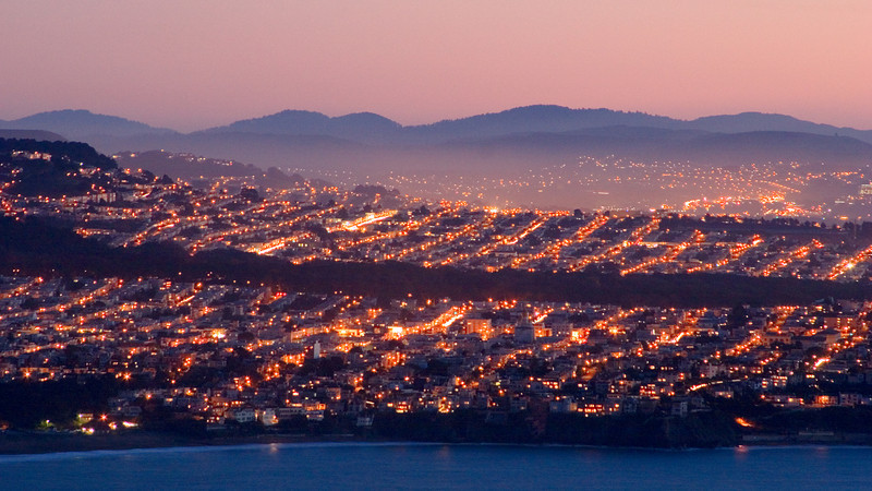 San Francisco at Twilight - San Francisco, California