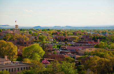 Santa Fe cityscape