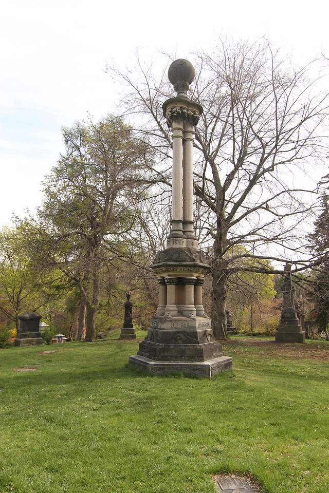 April 22/12 - Mount Pleasant Cemetery, Toronto