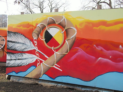Temporary Art Project By Aboriginal Artists