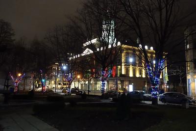 St. James Park At Night
