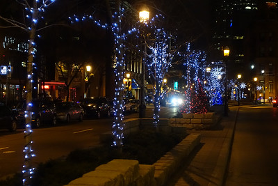 Front Street At Night