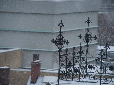 Winter In The Jarvis Street Neighbourhood