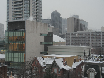 Winter In The Jarvis Street Neighbourhood