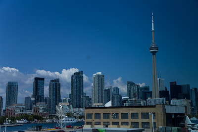 City View from Billy Bishop Toronto City Airport