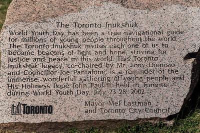 The Toronto Inukshuk