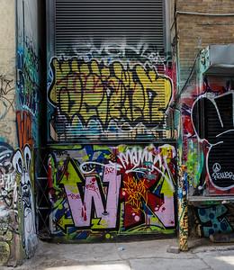 A Tour Of Graffiti Alley