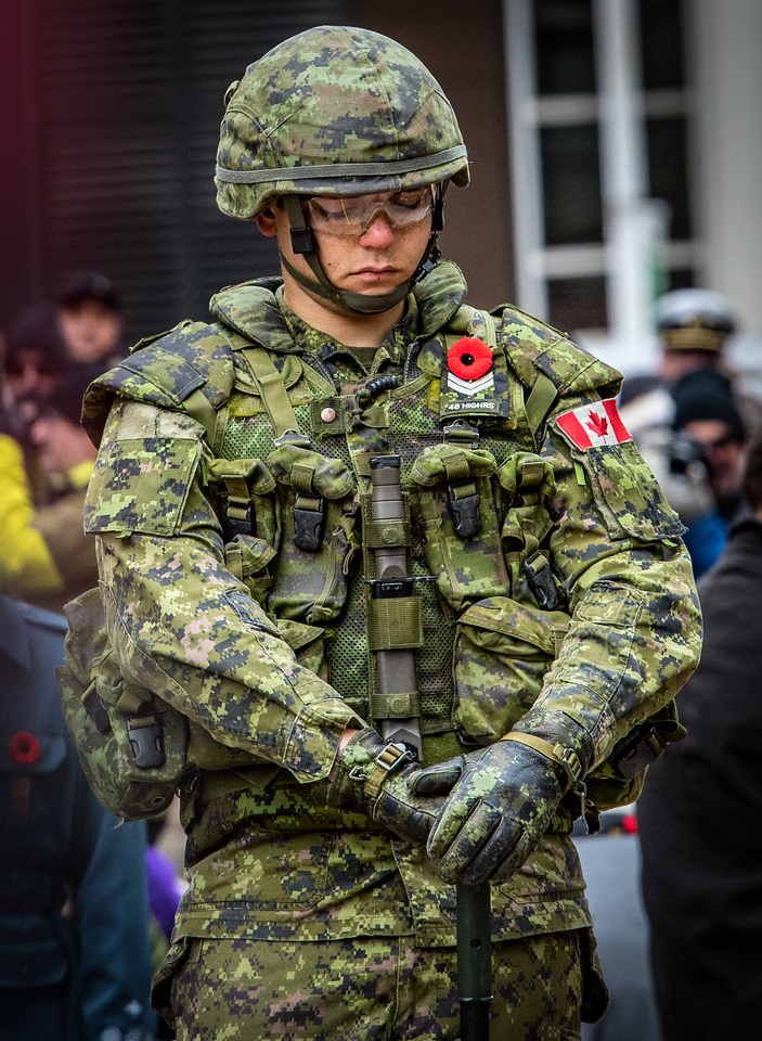 Remembrance Day Services 2017