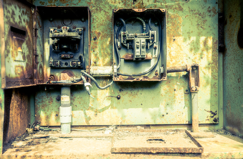 Abandoned Electrical Boxes