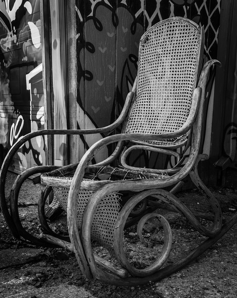 A Lonely Chair, Looking For A New Home