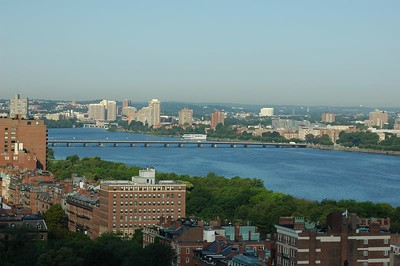 The Charles River, looking onto Mass. Avenue