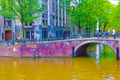 """Bridge Over The Keizersgracht,"" Amsterdam, 2013."