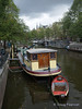 Amsterdam houseboat and dinghy