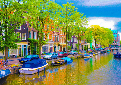 """Afternoon In Amsterdam,"" Amsterdam, 2013."