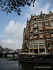 Hotel and restaurant graces Amsterdam canals