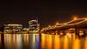 Town Lake At Night