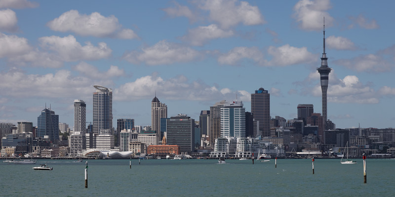 Downtown Auckland from Bayswater