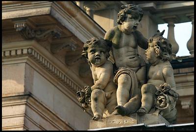 Children Sculpture at Neues Palais