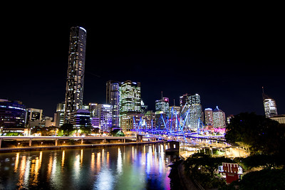 Kurilpa Bridge & City