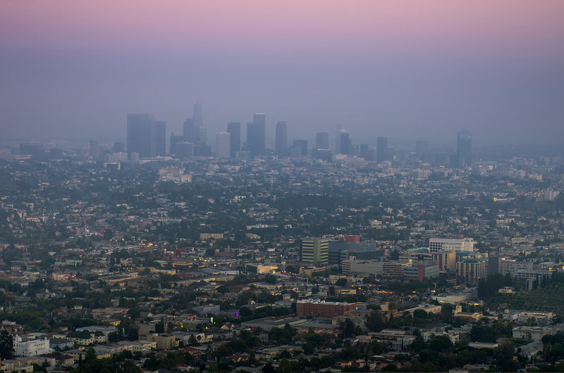 """More Smog"" Los Angeles, California"