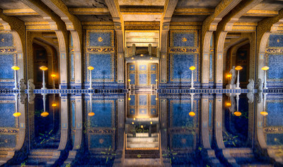 """Roman Reflections"" Hearst Castle, California"