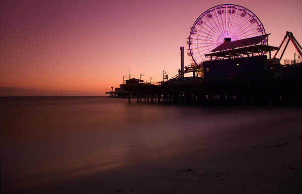 """Santa Monica Pier"" Santa Monica, California"