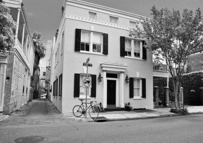 """Bike on State,"" historic Charleston, South Carolina, 2012."