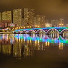 Lek Yuen Bridge at Chinese New Year