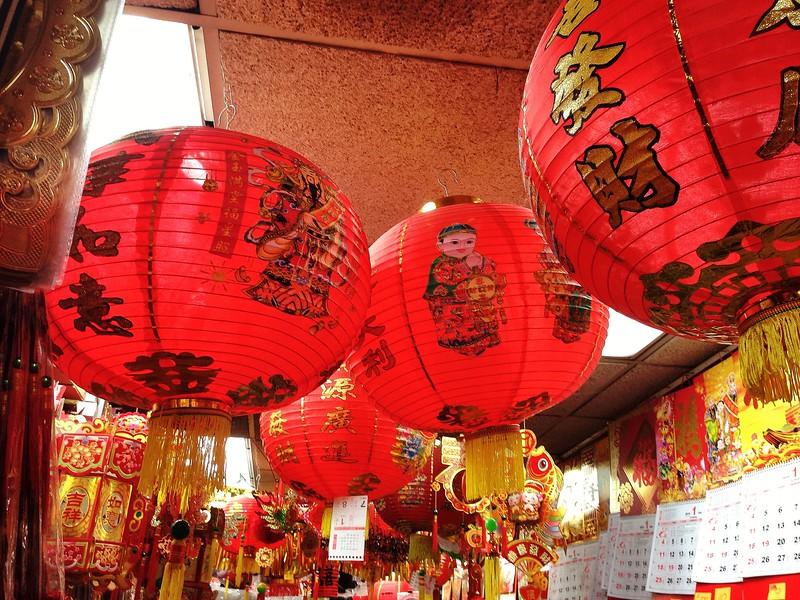 Jaunt through Chinatown - Sea of Red