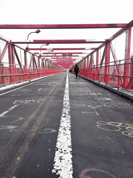 Leading Lines - WIlliamsburg Bridge