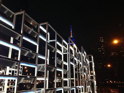 Light Installation at Madison Square Park