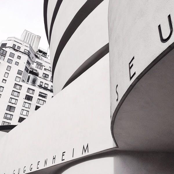 The Guggenheim in BW