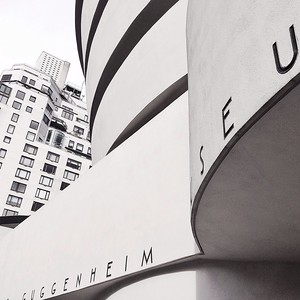 The Guggenheim in BW