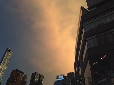 Columbus Circle Sunset