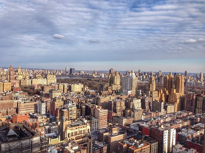 View from Above - View of the City and Central Park