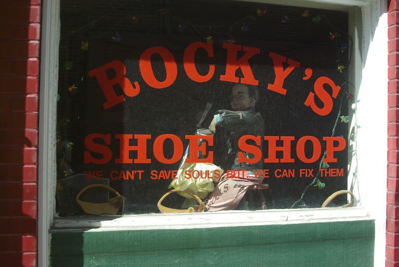 Rocky's no dummy